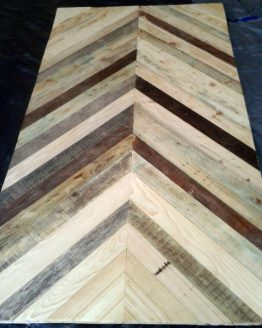 drewniany blat z palet, recycled pallet wood table
